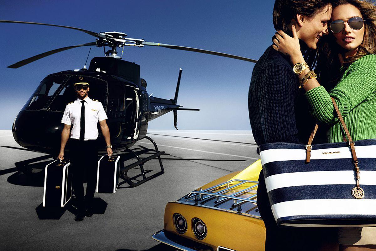 "Image via <a href=""http://destinationkors.michaelkors.com/runway/ad-campaigns/spring-2013-ads/"">MichaelKors.com</a>"