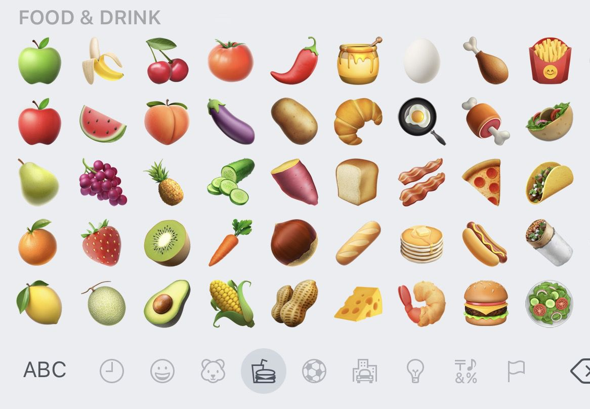 Avocado And Bacon Emojis Are Finally Here With Apples Latest Iphone