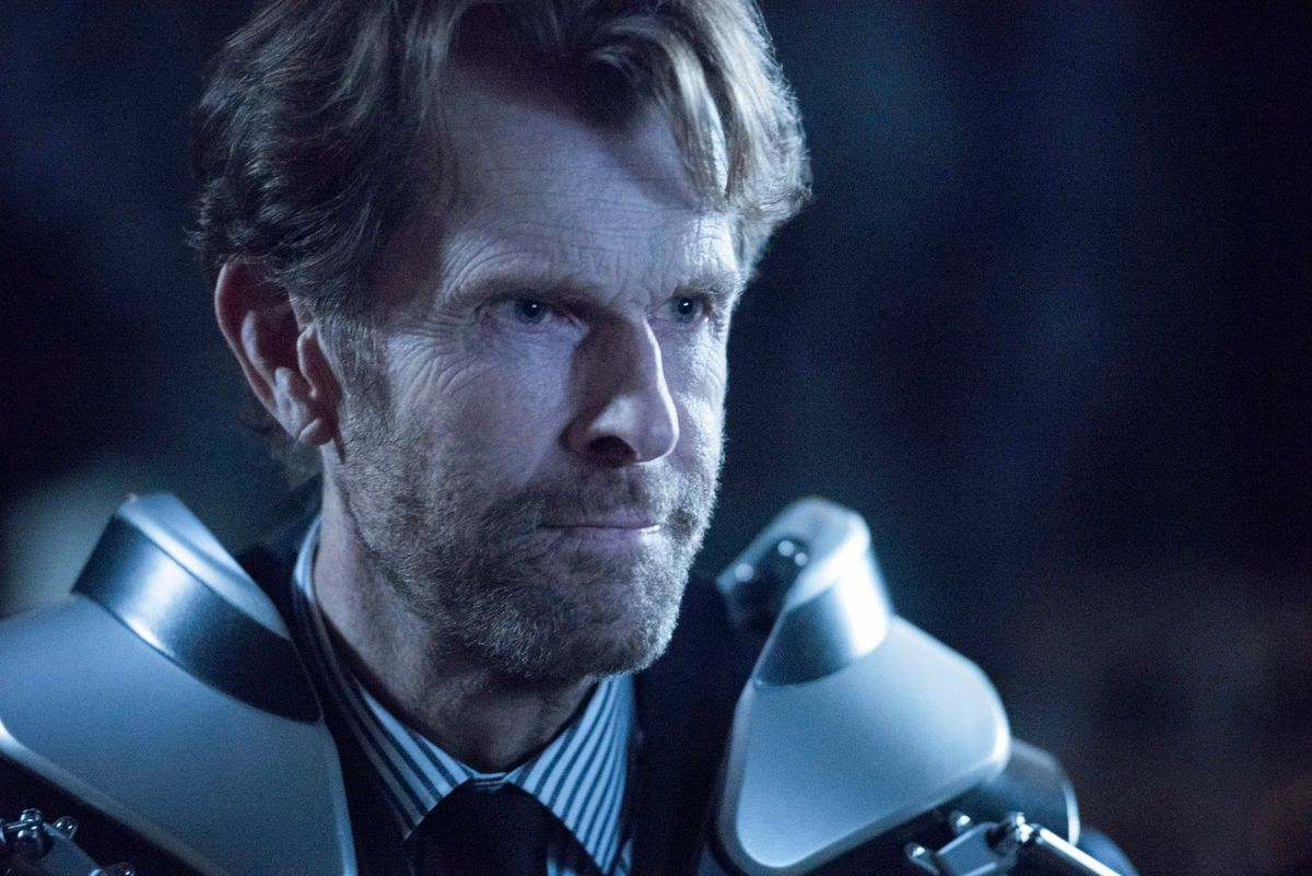 Kevin Conroy as Batman in the CW's Crisis on Infinite Earths crossover.