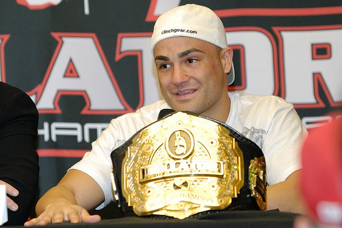 Eddie Alvarez has been scratched from Bellator 54 due to an undisclosed injury. (Photo courtesy of Lenny Campbell / MMAWeekly.com)