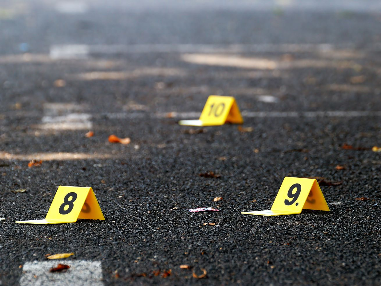 Ten people were shot, one of them fatally, Tuesday in Chicago.