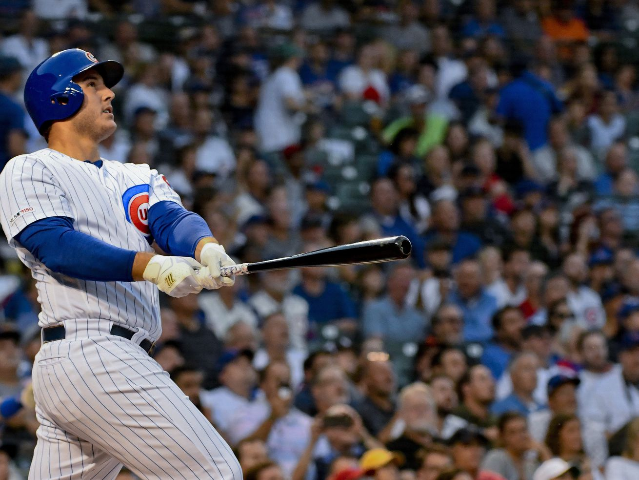 Anthony Rizzo homers twice, Cubs start American Legion Week with win over Giants