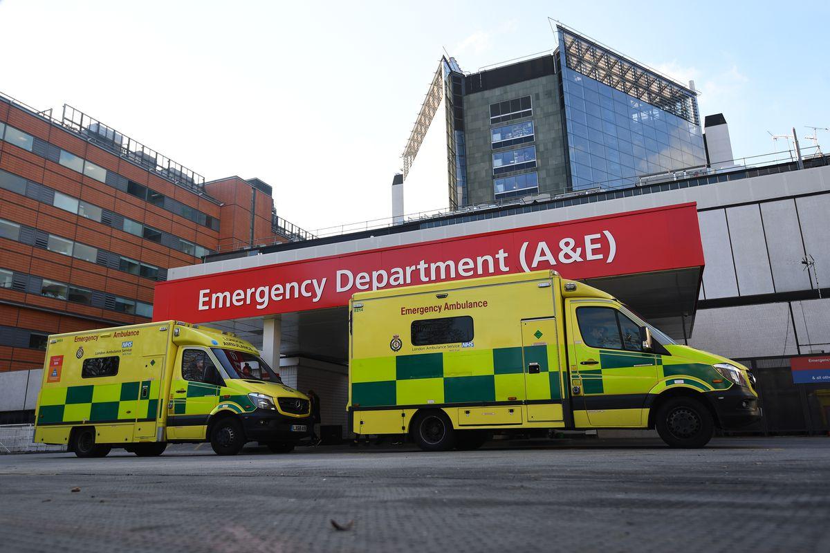 St Thomas' Hospital stock - London