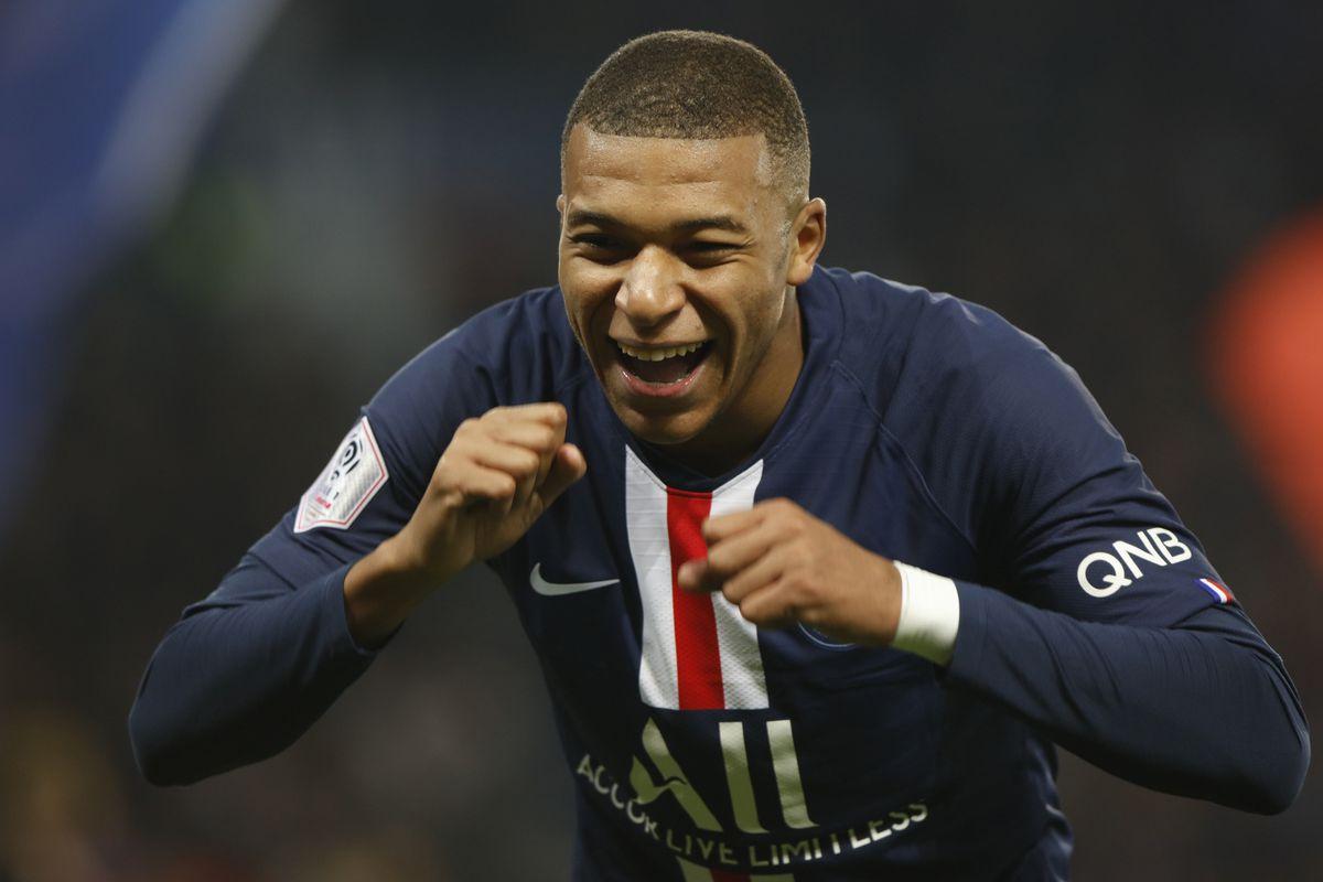 Kylian Mbappe - Paris Saint-Germain - Champions League