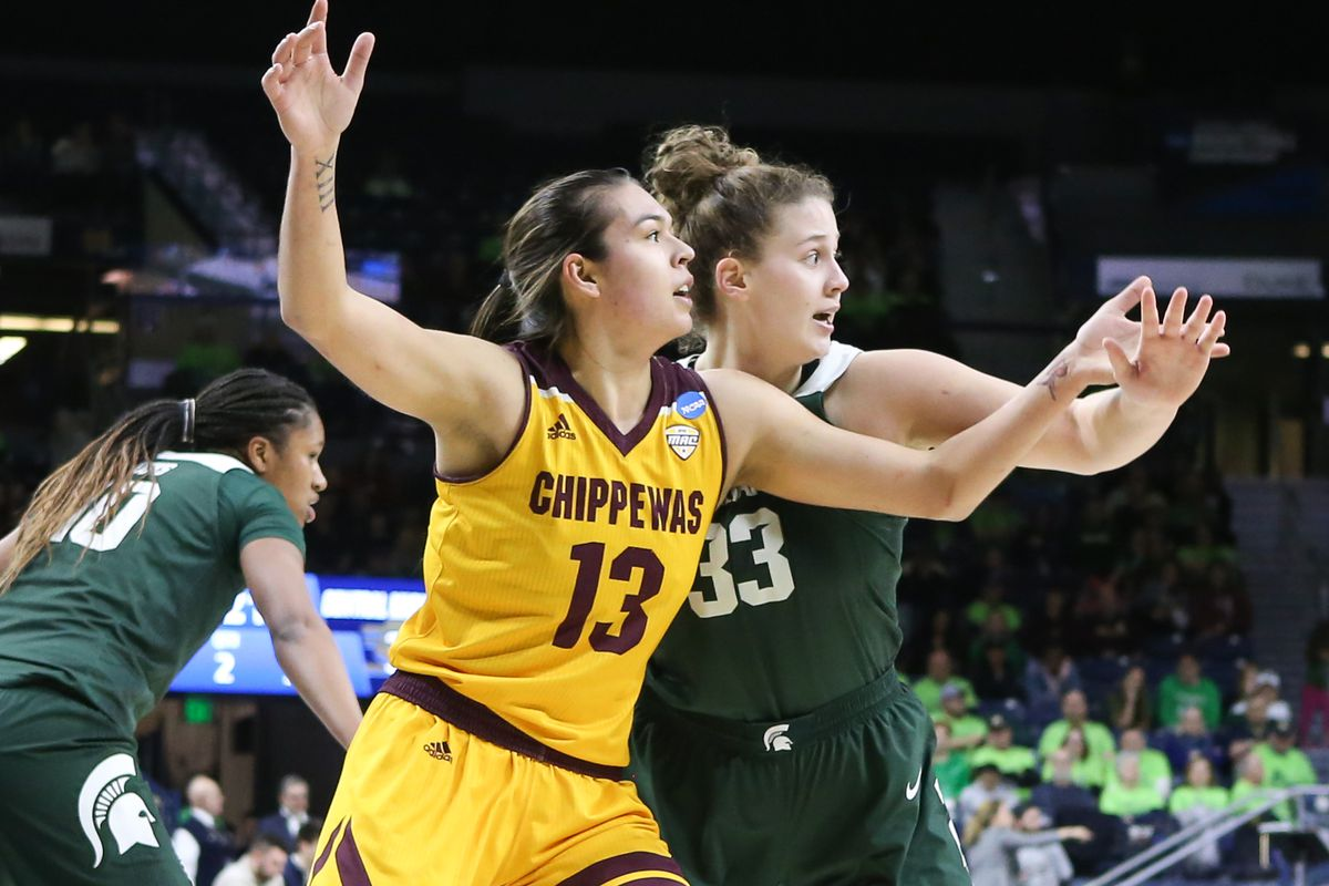 NCAA BASKETBALL: MAR 23 Div I Women's Championship - First Round - Central Michigan v Michigan State
