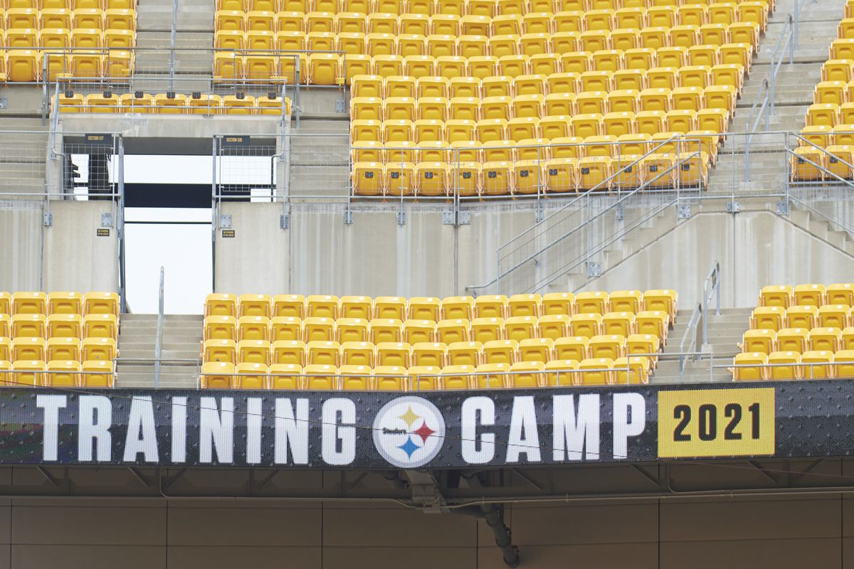 NFL: AUG 07 Pittsburgh Steelers Training Camp