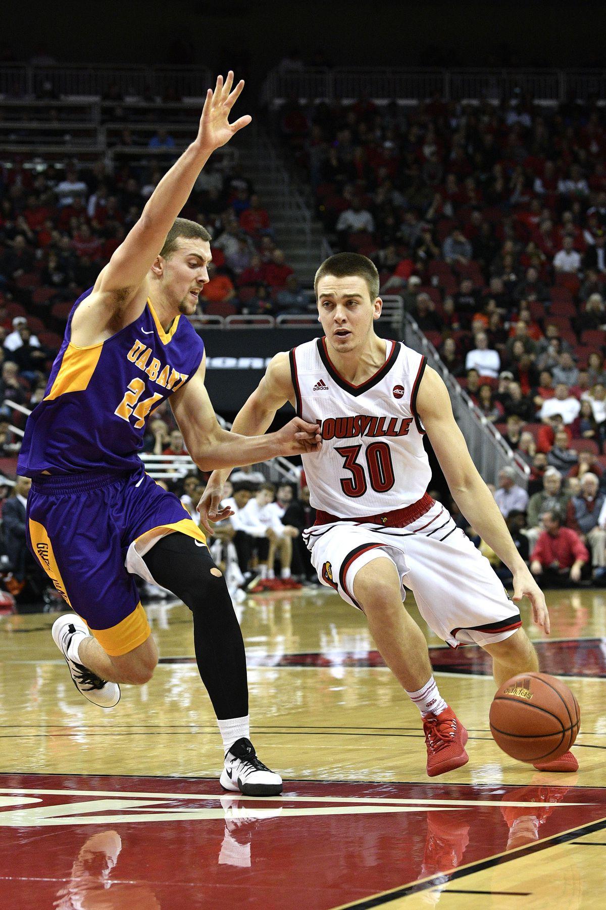 NCAA Basketball: Albany at Louisville