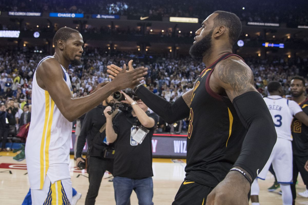 NBA Christmas 2017: Cavaliers and Warriors put on a show, even while ...