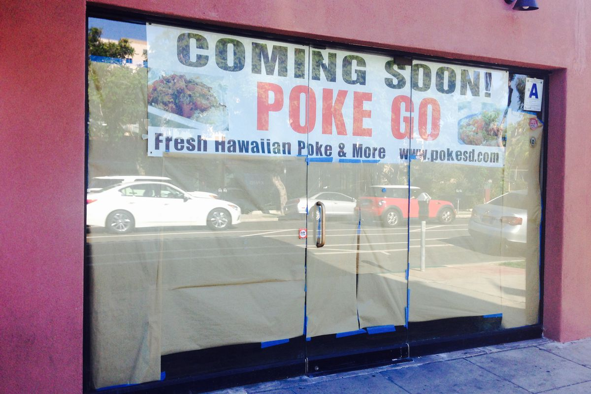 Poke go bringing hawaiian inspired seafood to hillcrest for Go fish poke dallas