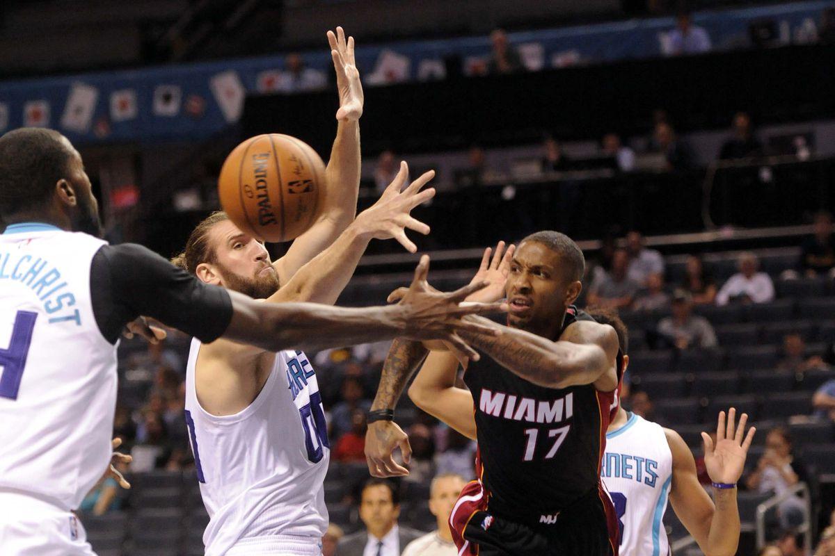 NBA: Preseason-Miami Heat at Charlotte Hornets