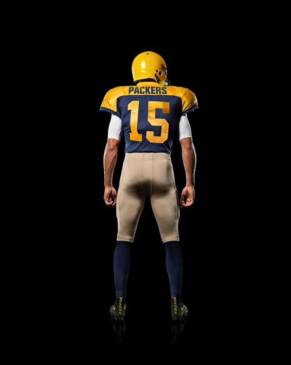 separation shoes 4d723 75700 packers retro jersey