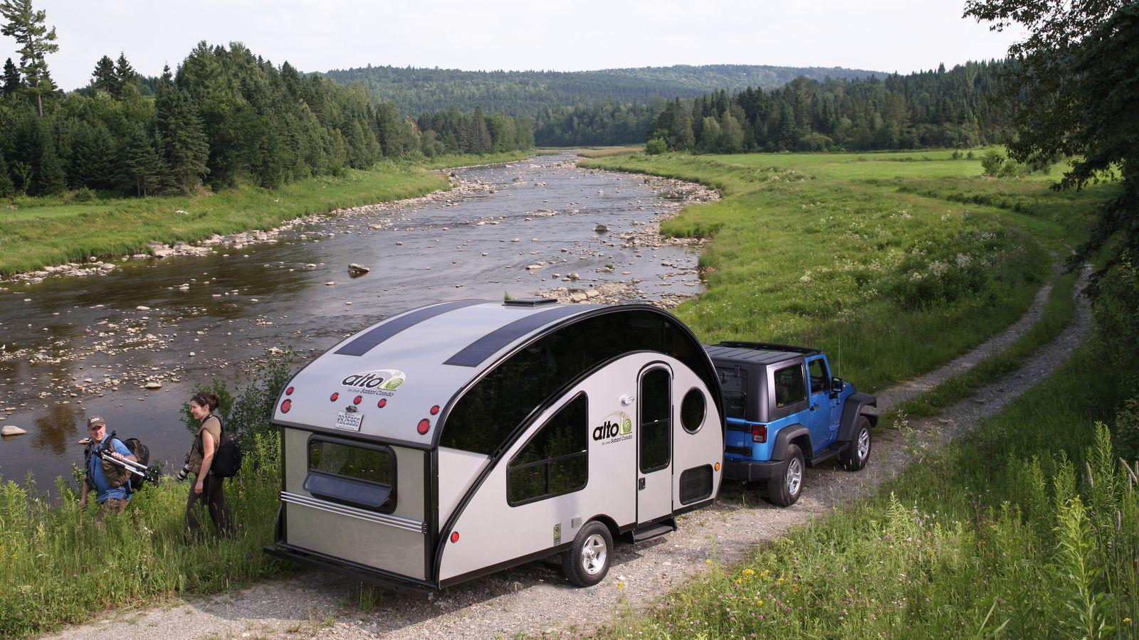 Eco Camp Travel Trailer