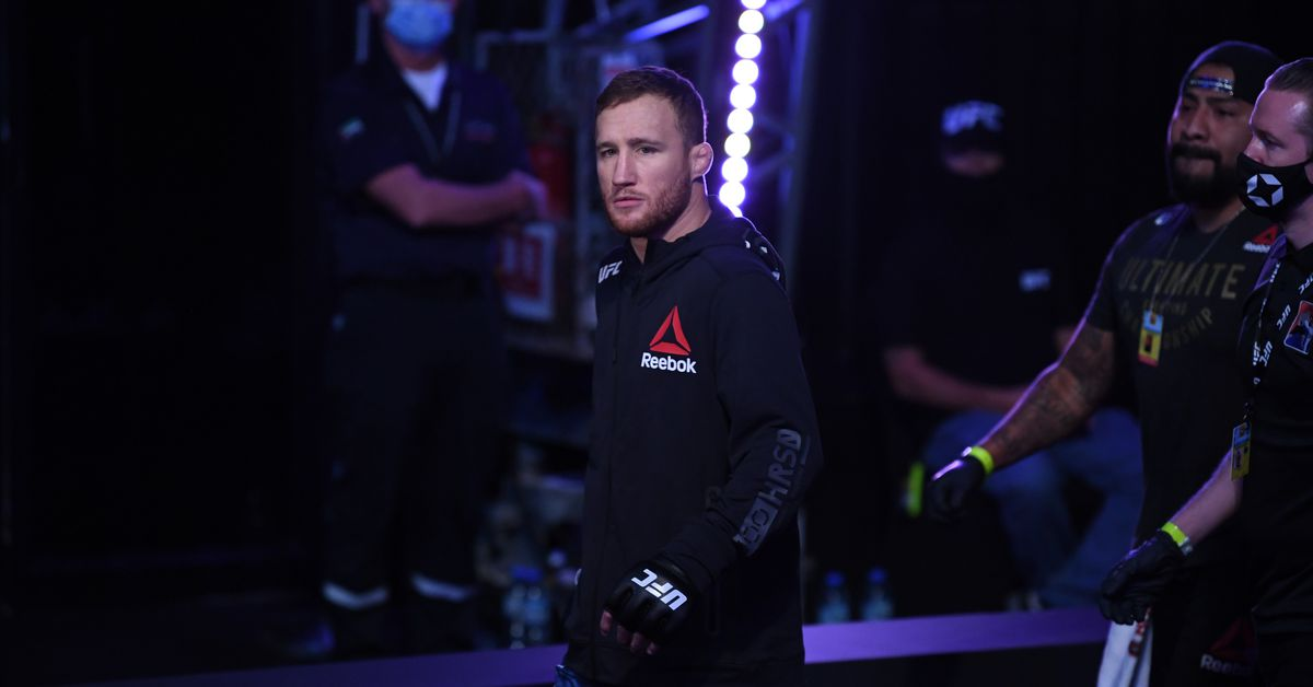 Justin Gaethje: Michael Chandler 'talking out of his ass' on ducking allegations