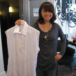Liber designer and a men's shirt