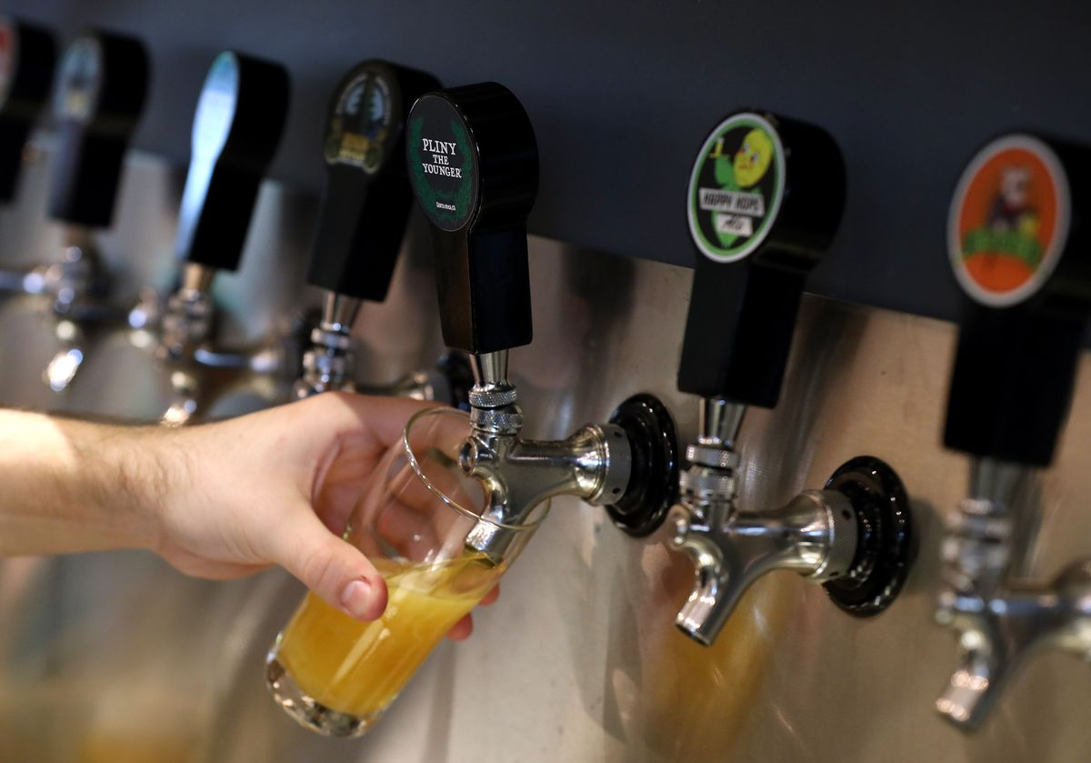 Popular Limited Release Beer Draws Huge Crowds To Russian River Brewery In Windsor, California