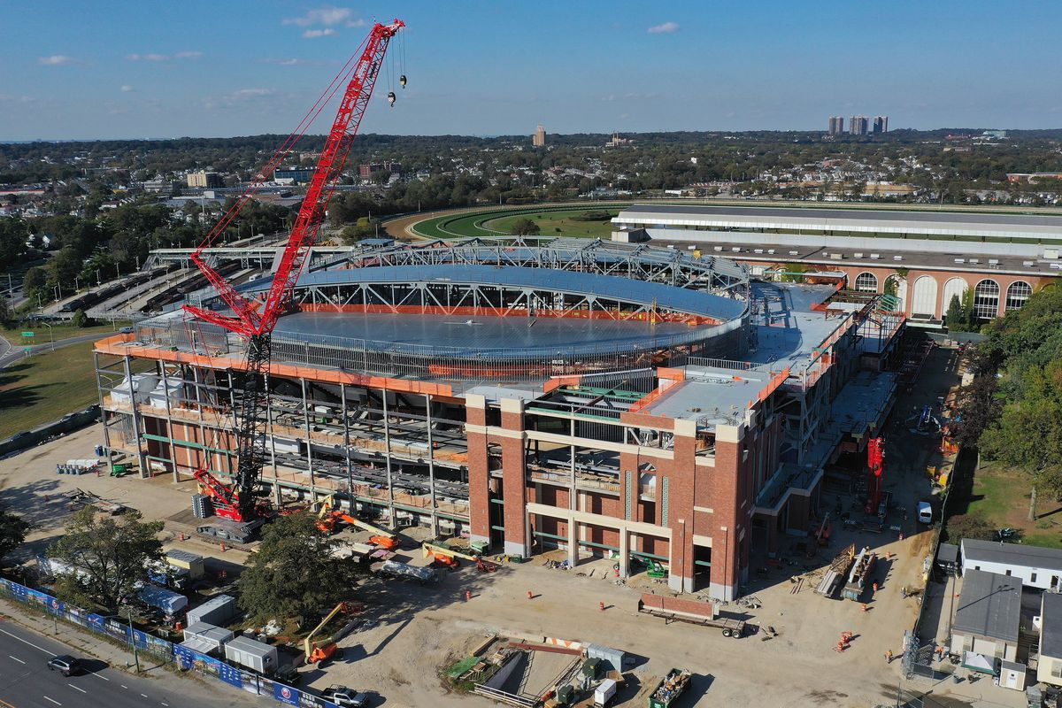 UBS Arena Construction