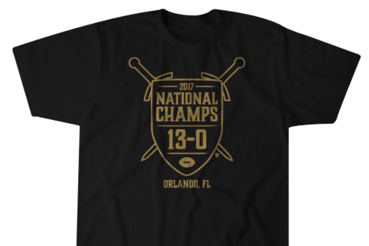 Troll The P5 And Protest The Playoff With 2017 Ucf National Champs T
