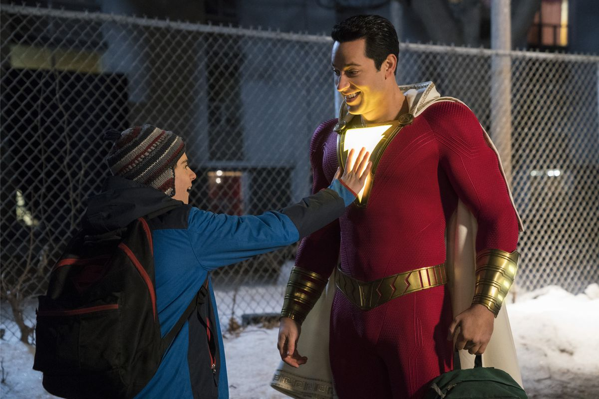 Shazam! has dropped in with positive early reviews