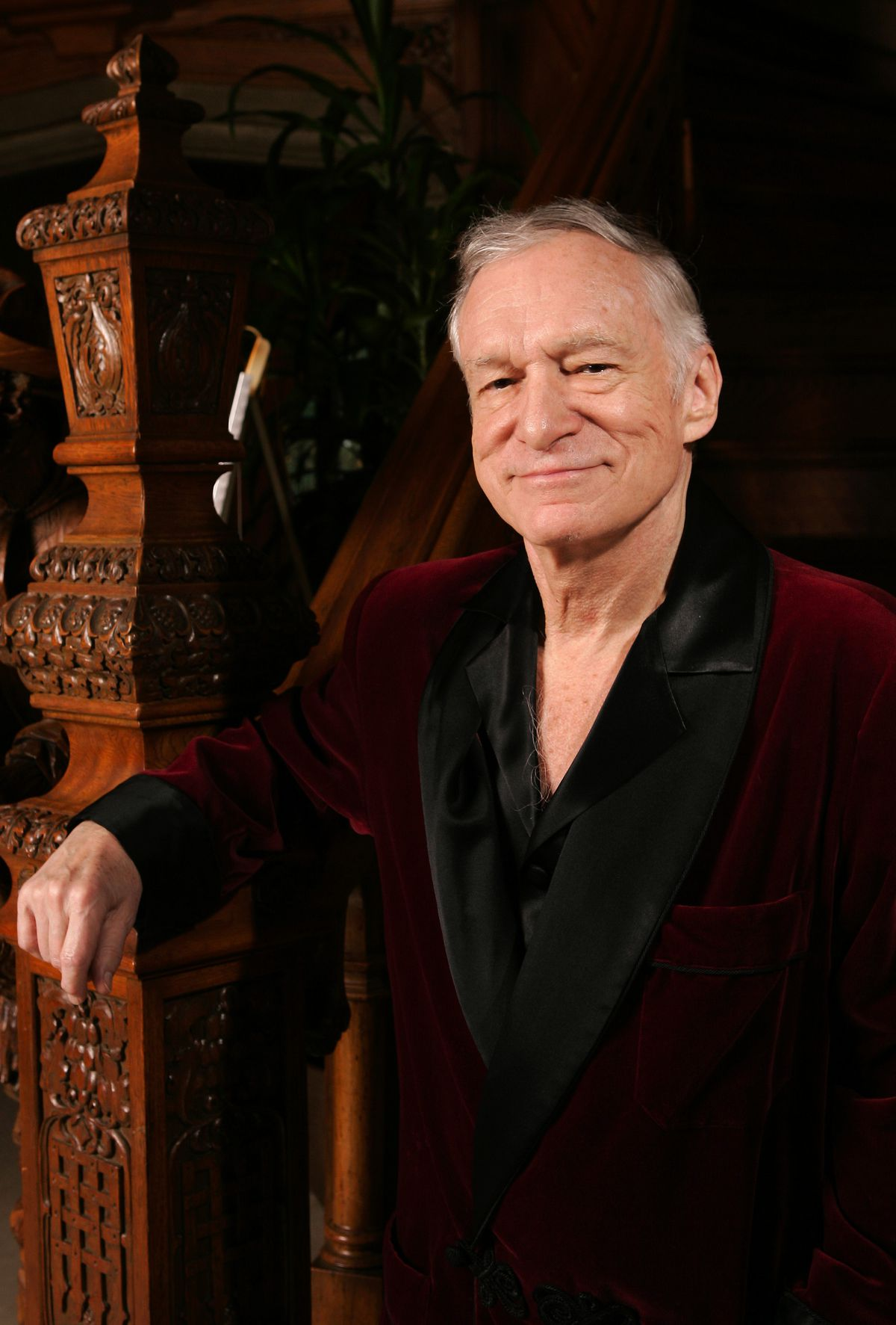 """Playboy magazine publisher Hugh Hefner said he wasn't involved with """"obscene matters,"""" though obscenity charges brought against him in the 1960s."""