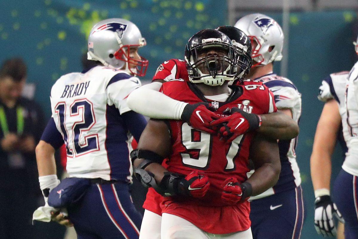 Grady Jarrett ties Super Bowl record with 3 sacks for Falcons vs