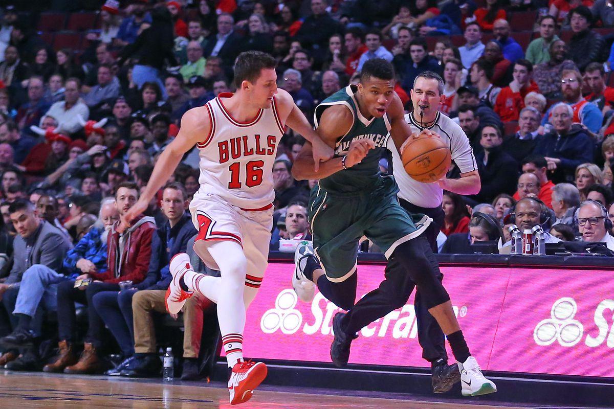 NBA: Milwaukee Bucks at Chicago Bulls