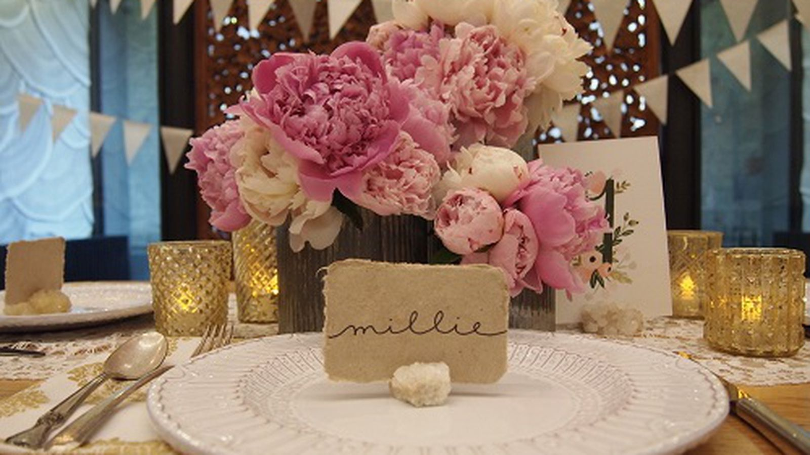 Find The Perfect Setting For Your Wedding: BHLDN's 10 Steps To The Perfect Wedding Table Setting