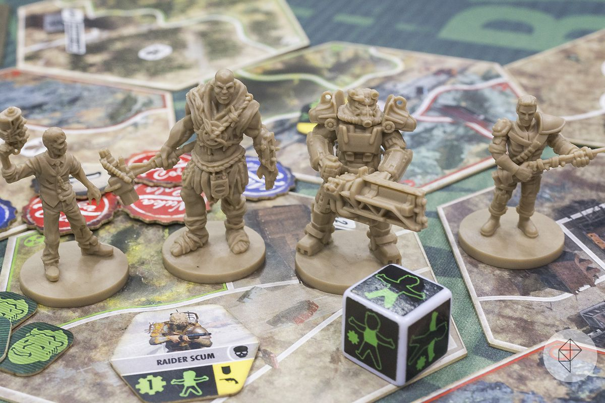 Four Of The Playable Characters In Fallout From Fantasy Flight Games Charlie Hall Polygon