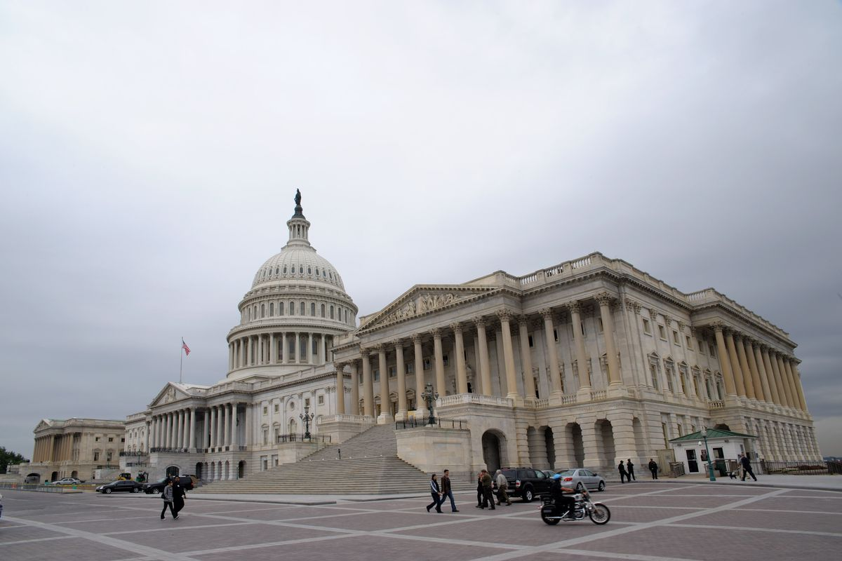 The US Capitol, where Congress resides — and approves DC's laws.