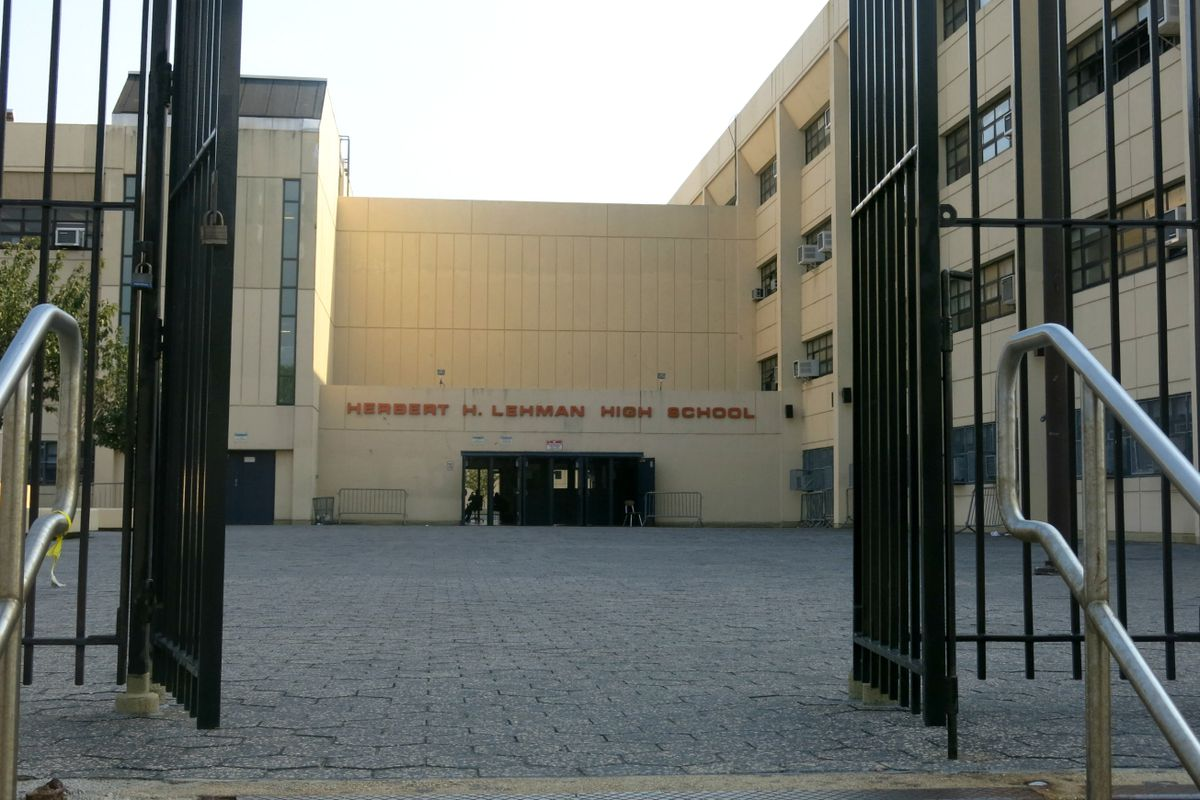 Herbert Lehman High School in the East Bronx is among the schools on the state's receivership list.