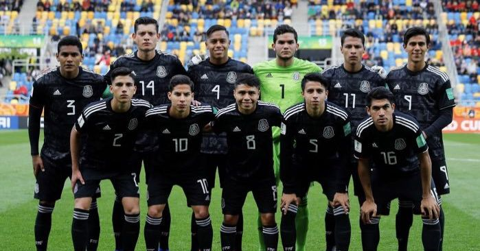 4a400ca91 Mexico lose against Italy in their U-20 World Cup debut. Mexico (National  Football) logo