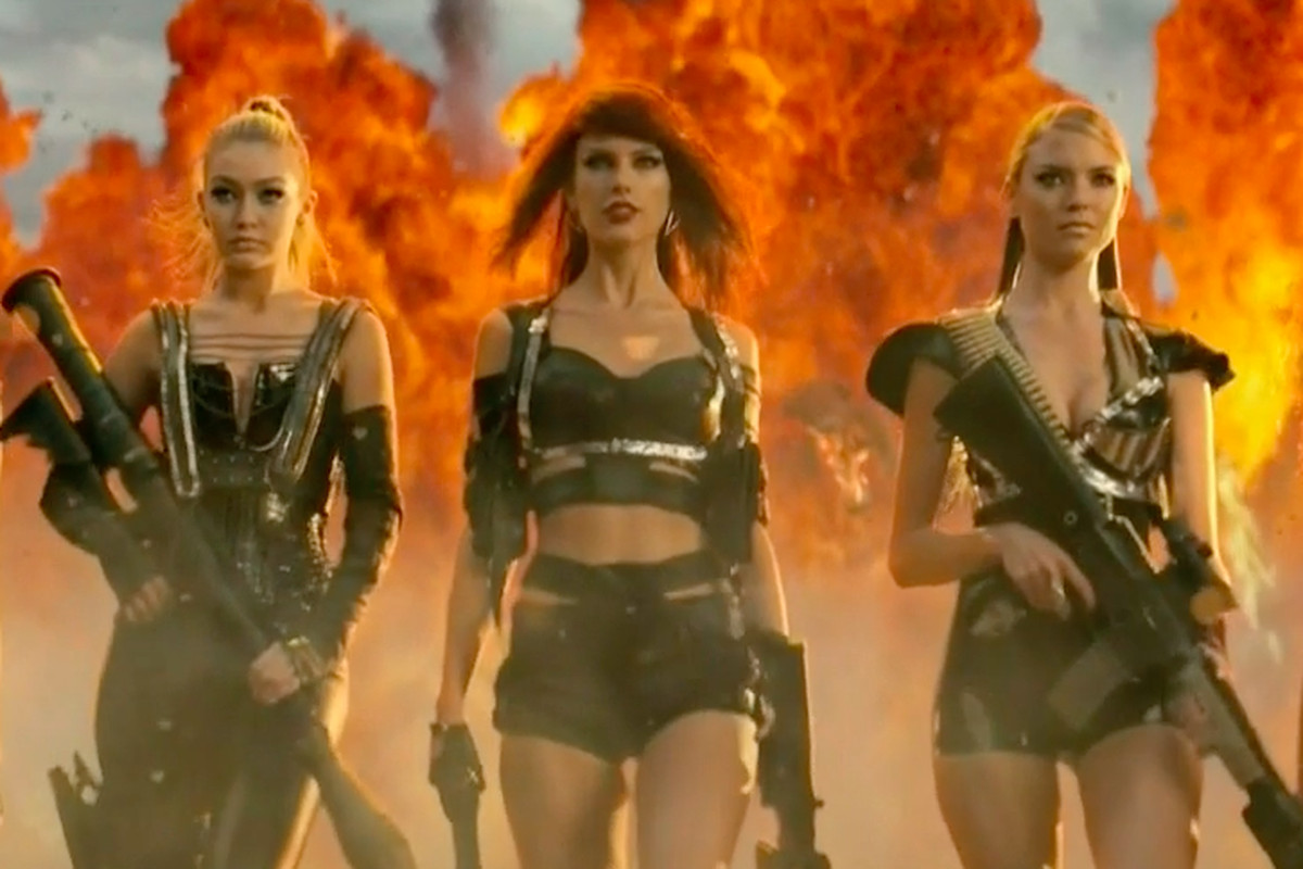 Relive The Most Ass Kicking Est Moments From Taylor Swift S Bad Blood Video Racked
