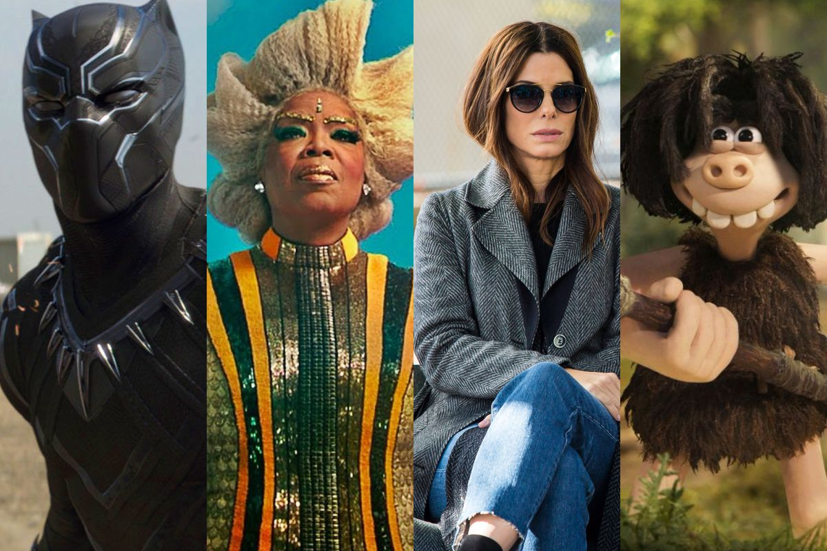 Black Panther, A Wrinkle in Time, Ocean's 8, and Early Man are all due in theaters in 2018.