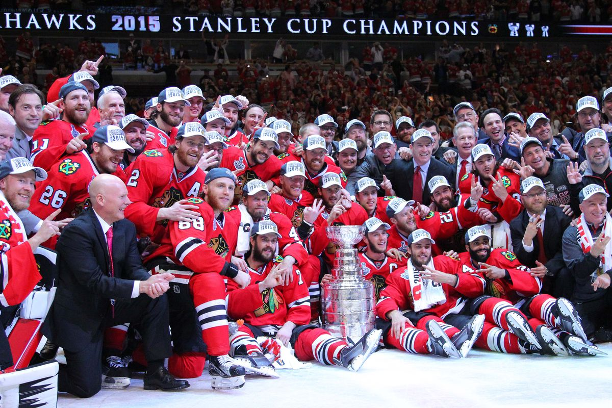 blackhawks announce 2015 stanley cup championship book, movie