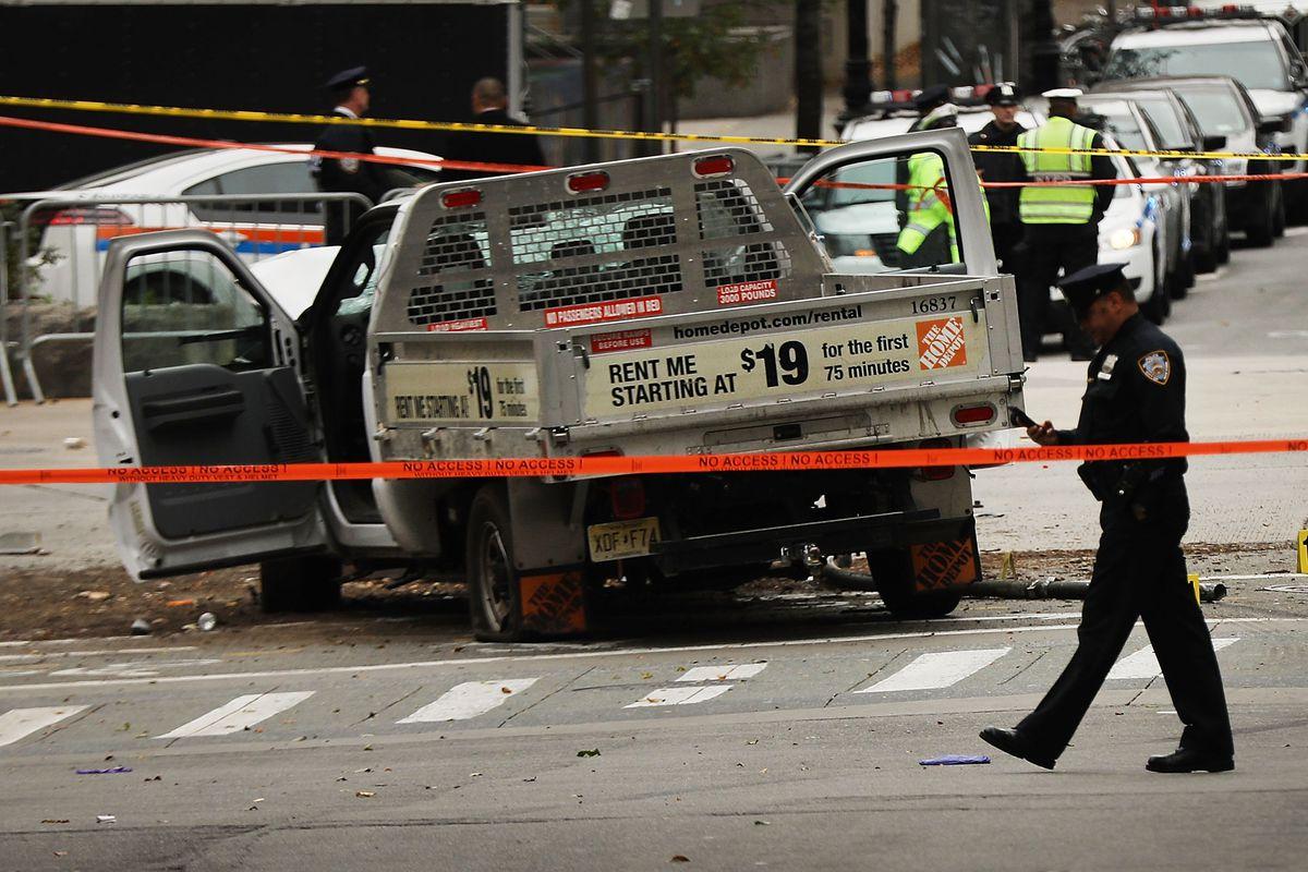 Shots fired in Manhattan; one person in custody