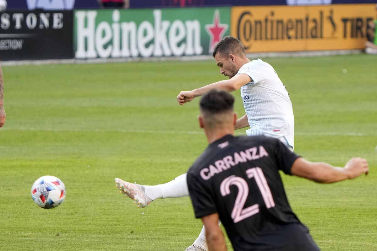 MLS: Inter Miami CF at Chicago Fire