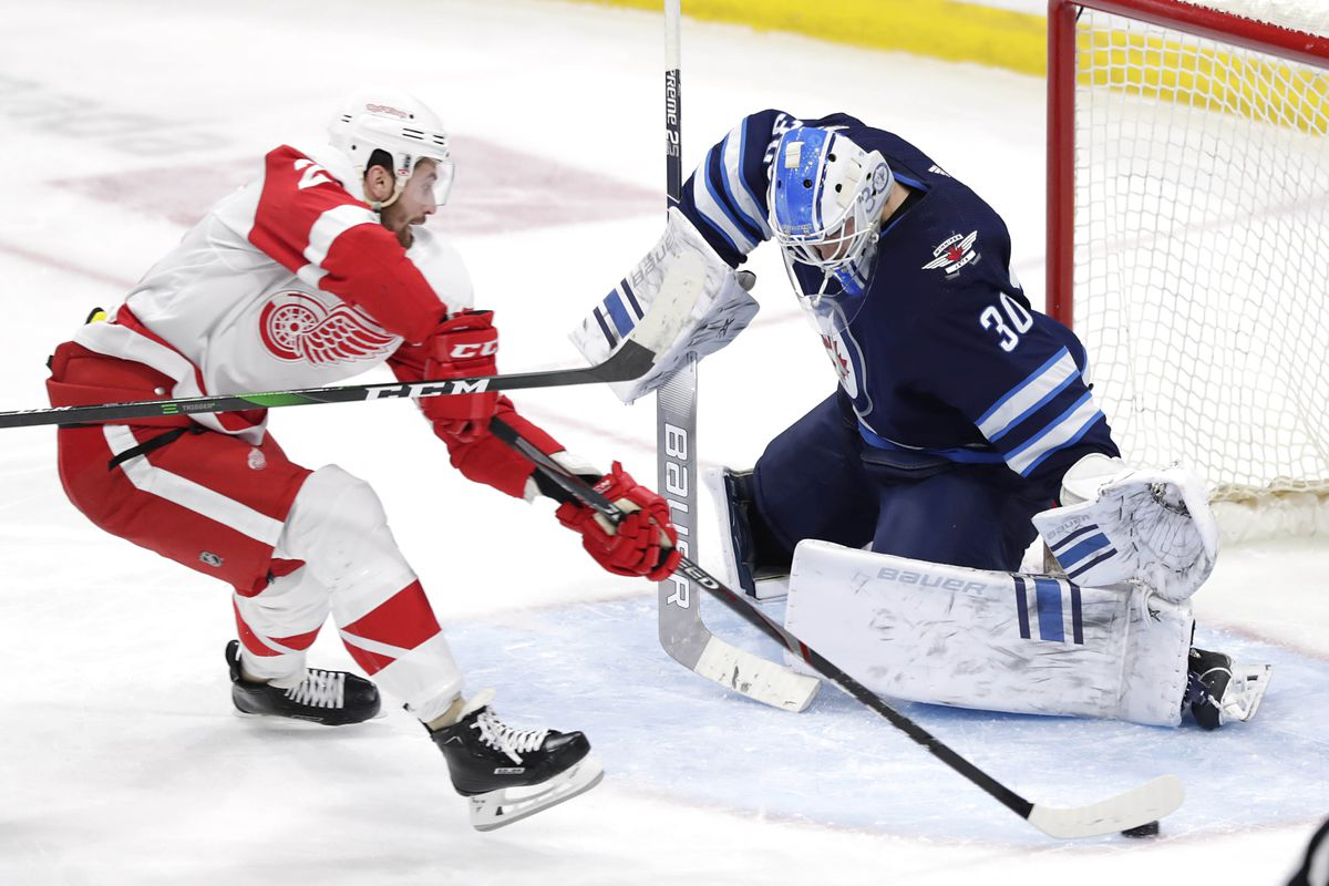 NHL: Detroit Red Wings at Winnipeg Jets