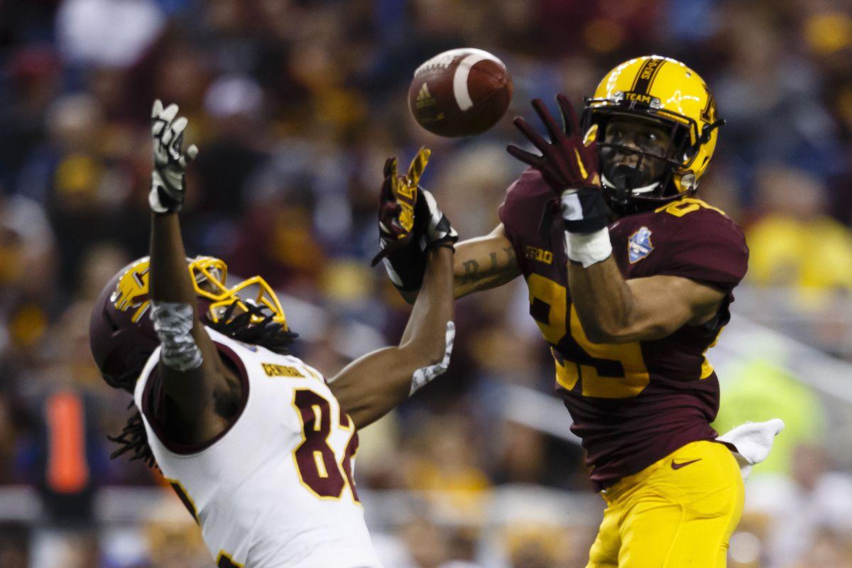NCAA Football: Quick Lane Bowl-Central Michigan vs Minnesota