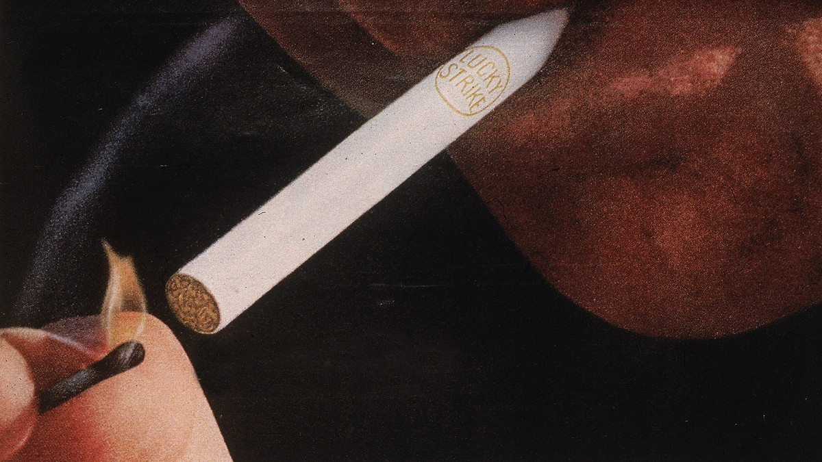 A section of a Lucky Strike ad from 1964.