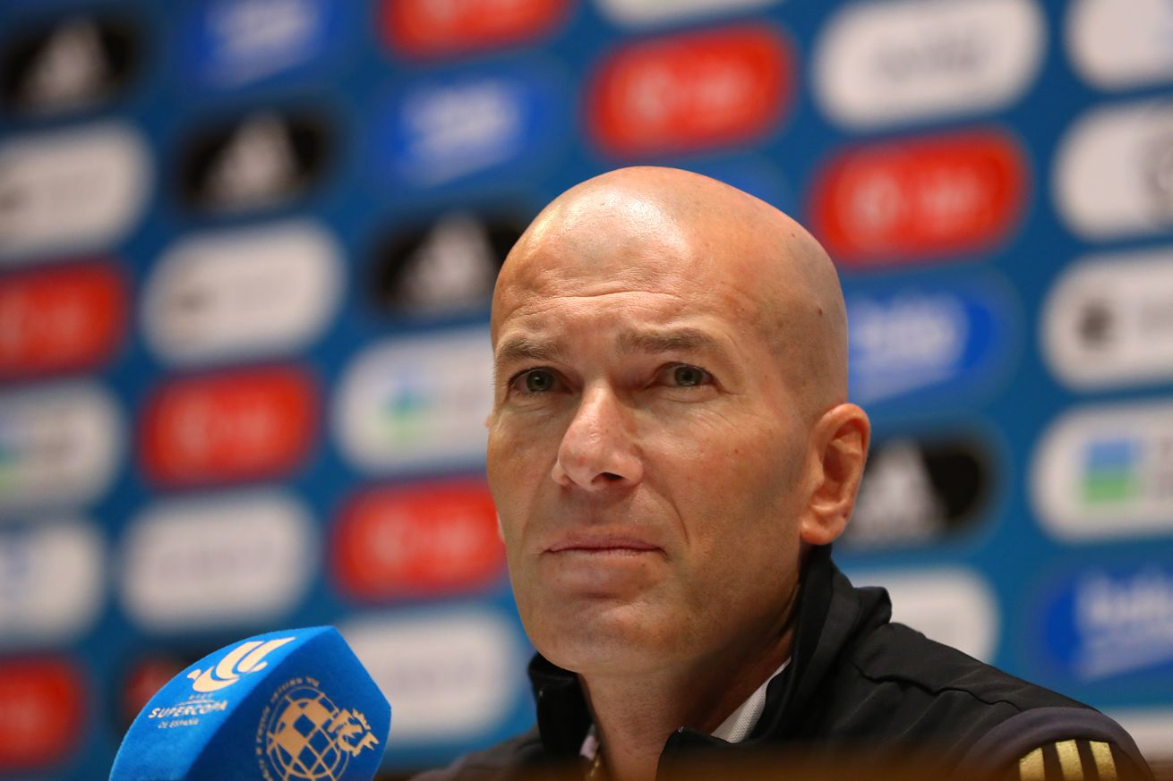 Zinedine Zidane: ?I hope, that he will get a good reception, because Lopetegui is from the house?