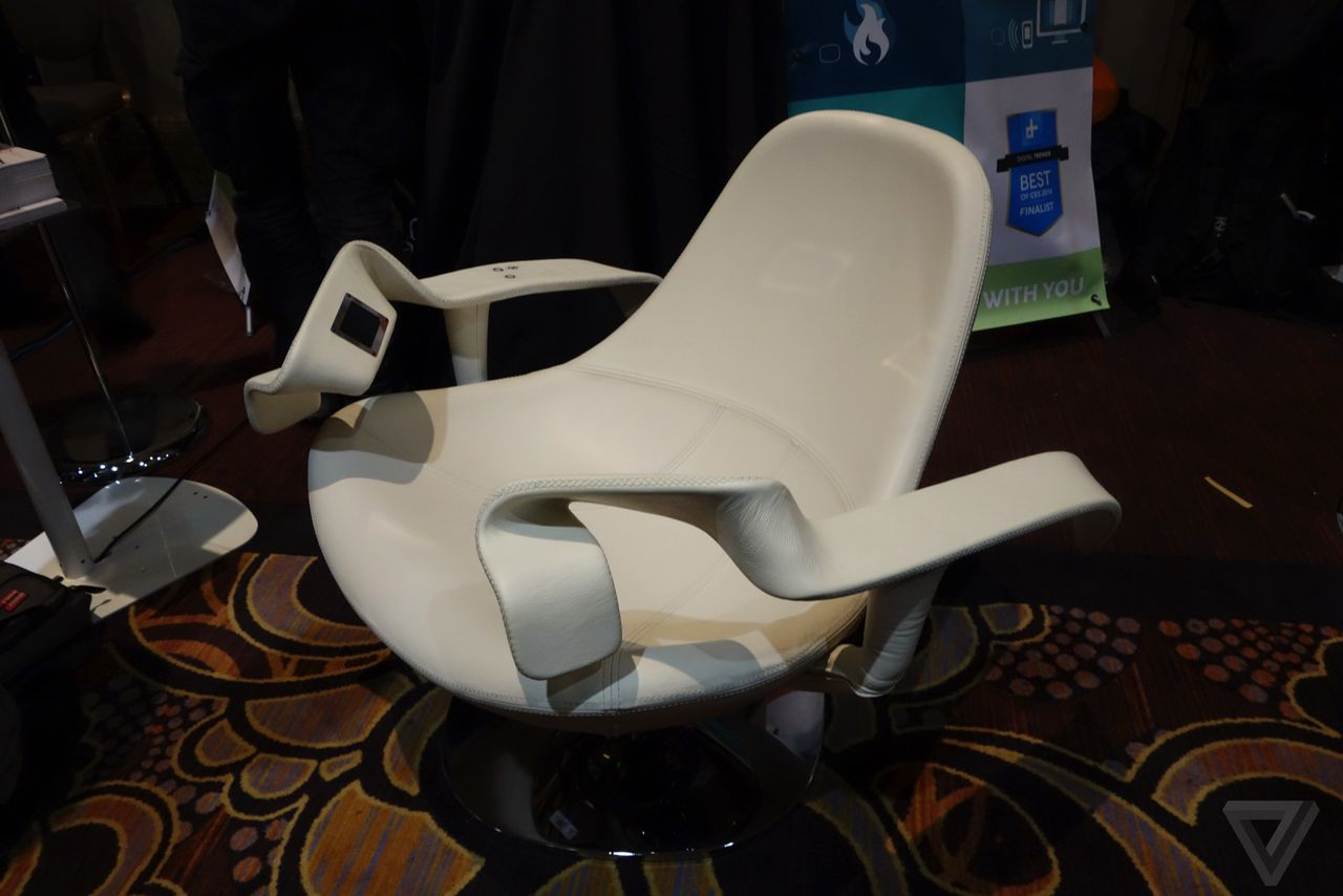 The Tao Chair lets you work out without ever getting up | The Verge