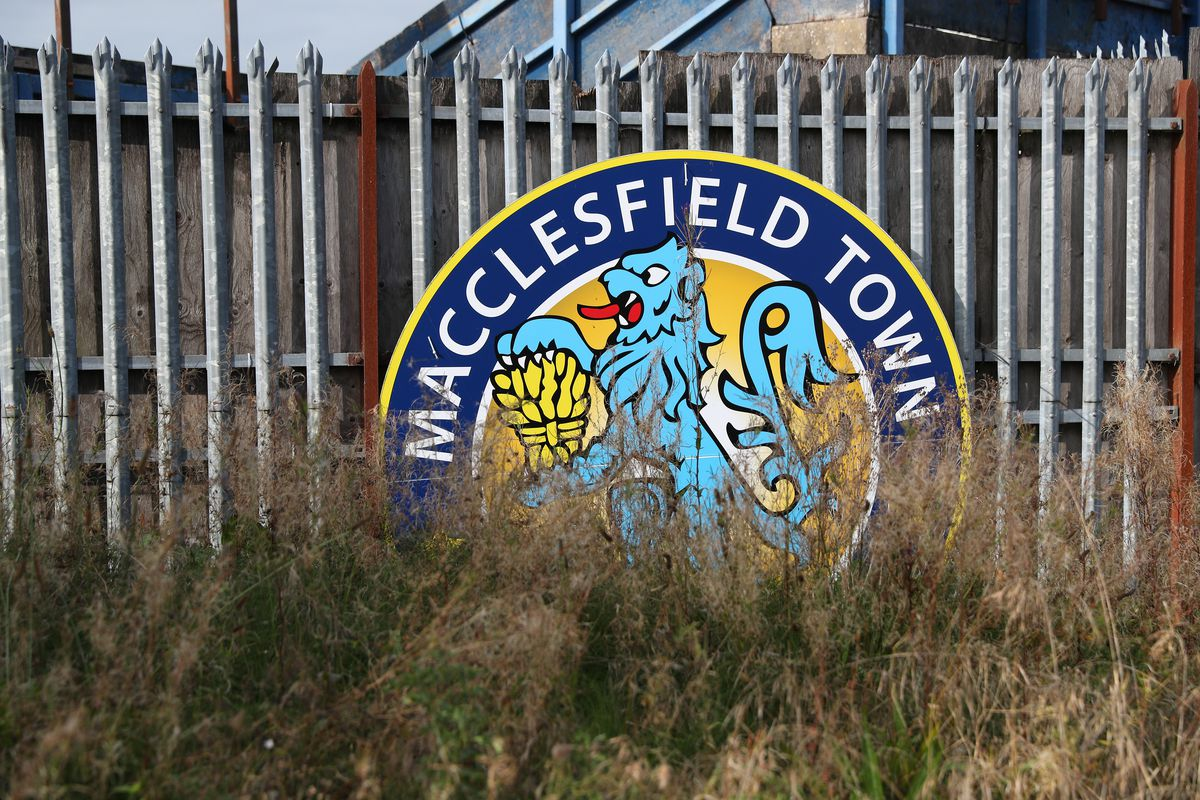General Views of Moss Rose Ground home of Macclesfield Town
