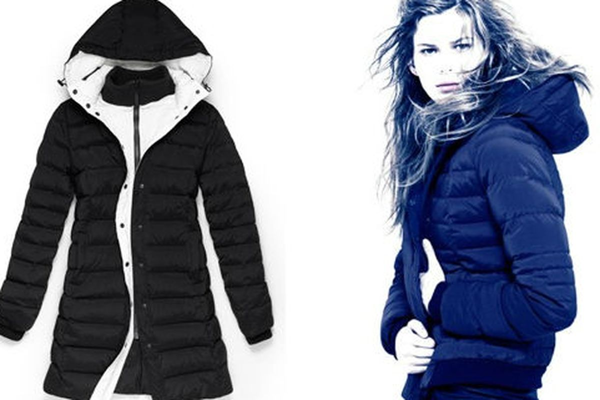 Hooded jacket, left, $149, via Theory