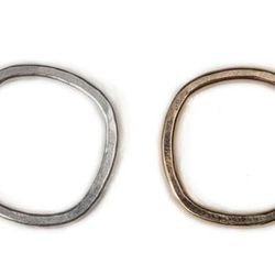 <b>Colleen Mauer Designs:</b> Locally-crafted CMD jewels are individually made with love by Colleen herself. Check out these thick individual bands for $64 each. Add-on option: signature stackable rings make a great anniversary gift.