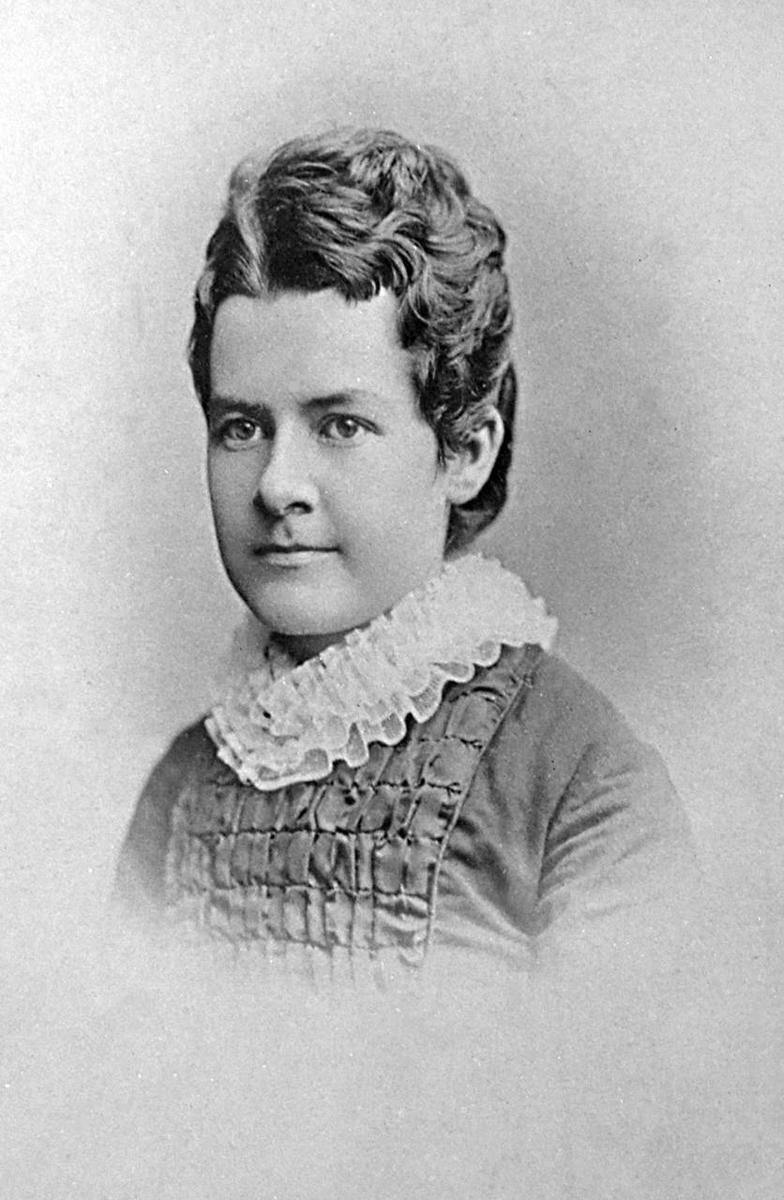 A young Martha Hughes Cannon, wife, mother, doctor, suffrage leader and first woman state senator in the United States.