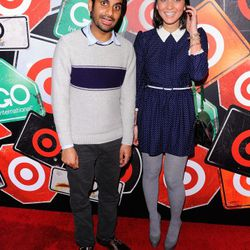 NEW YORK, NY - MARCH 10:  (L-R) Actors Aziz Ansari and Olivia Munn attend the GO International Designer Collective Launch at the Ace Hotel on March 10, 2011 in New York City.  (Photo by Andrew H. Walker/Getty Images) *** Local Caption *** Aziz Ansari;Oliv