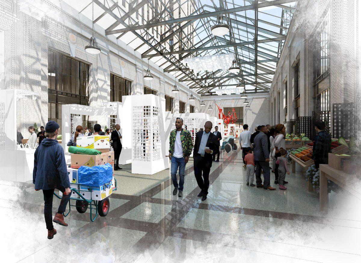 ford taps snøhetta to design new michigan central station campus