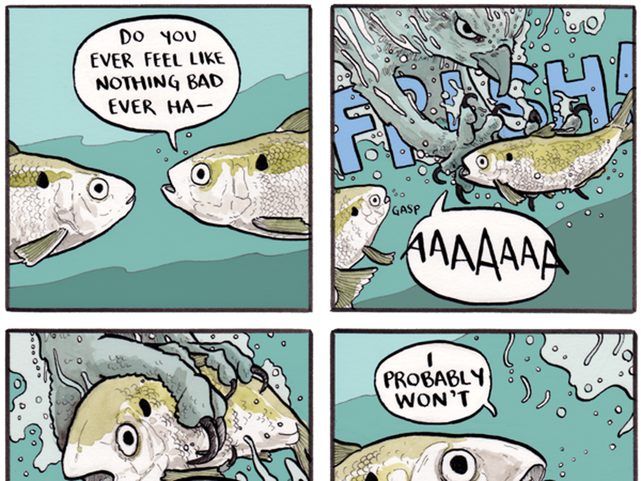 'False Knees' Is The Perfect Webcomic To Get You Through The Week