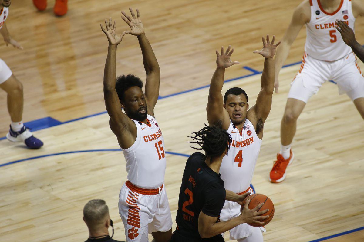 NCAA Basketball: ACC Conference Tournament-Miami Clemson