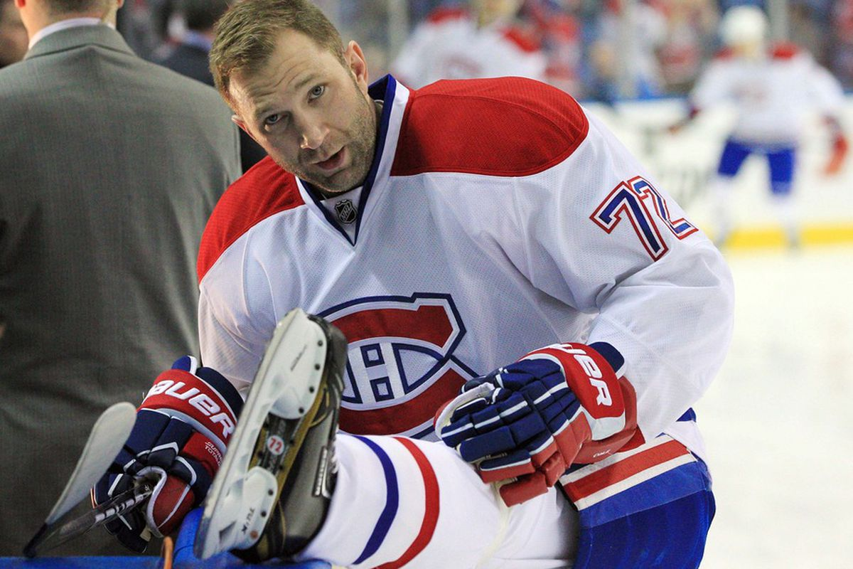 Erik Cole is off to a slow start so far this season and is 12th on the Habs in scoring, (2G 2A)
