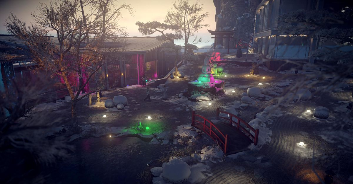 Wintry Hitman 2 update lets Agent 47 throw snowballs in Japan